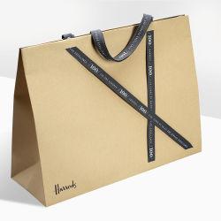 良質の個人化された設計 Kraft の手のペーパーバッグ