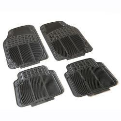 Высокое качество универсальный автомобиль коврики черный ножной мат ПВХ автомобиль