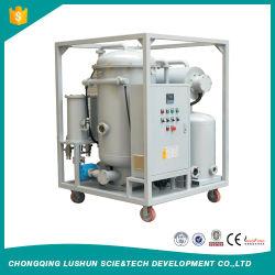 Marca Lushun 6000 litros /hora purificador de aceite lubricante de alta eficiencia con precios razonables.