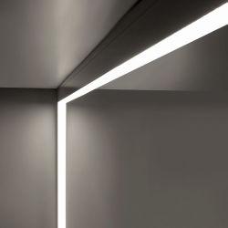 7040 série type montés au plafond de l'agrégation linéaire de lumière à LED