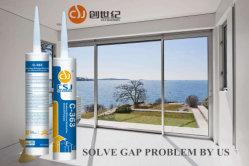 Vedante de Silicone adesiva forte para a engenharia de vidro