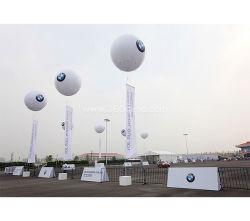 Impression couleur hélium ballon gonflable, la publicité ballon gonflable avec logo personnalisé GM999