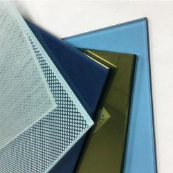 Hohe Wand-Büro-Zelle-Gebäude-kundenspezifischer Privatleben-Silk-Screen farbiges Fenster-Glas-Drucken des Großverkauf-10mm