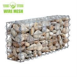 Huhn-Maschendraht-sechseckiger Draht-Filetarbeit Gabion Kasten-Stützmauer