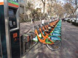 """26 """" 도킹 스테이션을%s 가진 도시 임대 시스템을%s 공중 몫 자전거 자전거"""