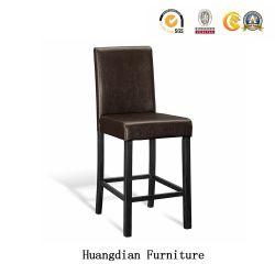 Le restaurant de gros de meubles de salle à manger en bois hautes Chaises Tabourets De Bar personnalisé (HD1505)