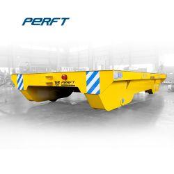 El uso de la línea de producción de acero de cama plana Cesta Carro de transporte eléctrico