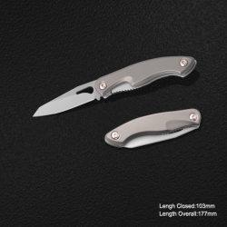 Lama piegante con la maniglia di alluminio anodizzata (#3961)