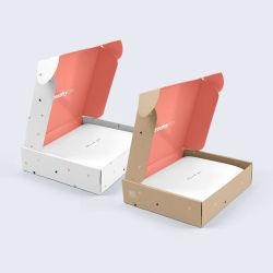 Custom печать черный матовый белый почтовые рассылки электронных писем из гофрированного картона транспортировочные упаковки составляют косметический губная помада поля бумаги с логотипом