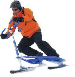 도매 극단적인 스포츠 내리막 썰매 3 새기는 눈 스키 스쿠터
