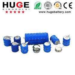 NiMH 1,2V Hot-Sale con pasadores batería botón