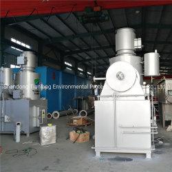 Plástico/Fábrica textil la incineración de residuos incinerador de residuos sólidos