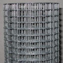 Rete metallica verde della saldatura di acciaio di PVC/Galvanized