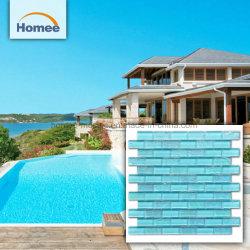 Swimmingpool Blue Crystal Glass Mosaic