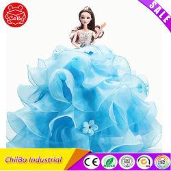 Bonecos de plástico de moda com belo vestido de casamento