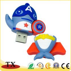 De promotie Flits van de Aandrijving USB van de Flits van pvc USB voor het Punt van de Gift