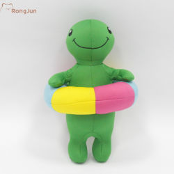 La natación de la tortuga de peluche juguete mascotas