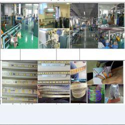 Streifen des Belüftung-PlastikLED-SMD-FPC mit Farbe des kupfernen Draht-zwei zweimal-Strangpresßling-Maschine