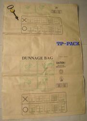 Полипропилен и ламинированной бумаги Dunnage мешок