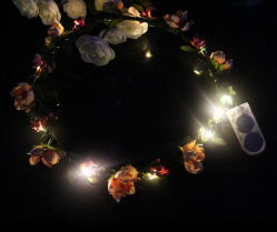 Maak tot de Leuke Boog van het Neonlicht van het Meisje de Elastische Band van het Haar van de Kinderen van het Voorhoofd
