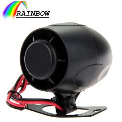 車のためのサイレンのメモの可聴アラーム120dB 12Vは自動車のユニバーサルバイクの黒を驚かす