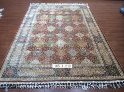 수제 페르시아 디자인 실크 플로어 러그 카펫 도매 가격(HM200728)