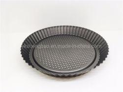 特別な形台所のための焦げ付き防止ピザ皿のケーキの耐熱の深皿Bakeware