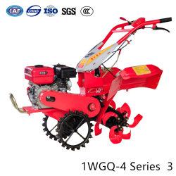 L'agriculture de la machine du tracteur de jardin Mini rotatif à la main de l'Essence Diesel Power Rotavator cultivateur de timon