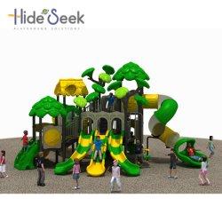 2018 Apparatuur van de Speelplaats van de Kinderen van het Pretpark de Plastic Openlucht (HS05901)