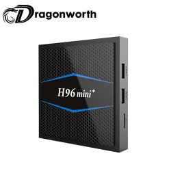人間の特徴をもつTVボックスH96 Mini+ S905W 2g 16g映画ビデオセットトップボックスのアンドロイド7.1 TVボックスサテライトレシーバのソフトウェア