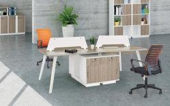 Конторской мебели группы рабочих станций деревянные меламином 4 мест раздел