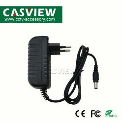 Wechselstrom 100V-240V zum DC12V 2A Stromversorgungen-Adapter für CCTV-Kamera-System EU wir Stecker wahlweise freigestellt