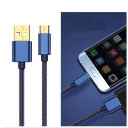 ナイロン編みこみのUSBデータ充満タイプCケーブル、USBの人間の特徴をもつタイプCケーブル