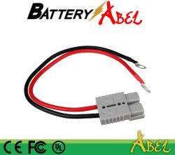 Connecteur de la batterie ; connecteur DC ; SG175 avec AWG et la broche ; la certification UL Le câble de batterie
