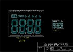 Het gewone Gele IPS van de Bodem Vlotte LCD van de Tredmolen Scherm