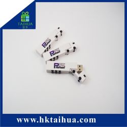 cadeau de promotion Logo personnalisé marque Menmory Mini disque Flash USB Stick