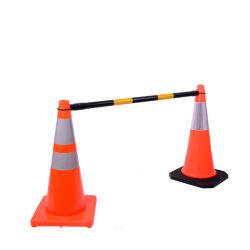 PVC e PE cones de segurança Barreira de tráfego em GUANGZHOU