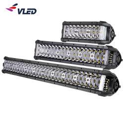 """8"""" 14"""" 22"""" LED de alta potencia de la luz de coche juego de puntería en la barra lateral de doble barra de luz encendido automático de luces para SUV Jeep Offroad"""