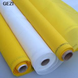 Gezi 8t tot 165t 20 mesh tot 420 mesh High Tension Polyester Gedrukt scherm met flexibele betaling voor zijde bedrukt scherm met