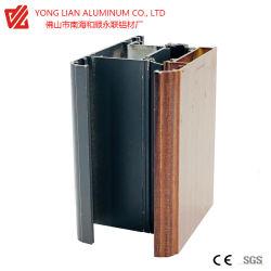 L'isolation thermique de l'impression profil aluminium extrudé pour nouveau style de fenêtre en aluminium avec isolation de chaleur