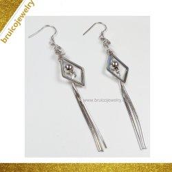 Nouvelle arrivée 925 Sterling Silver Jewellery Tassel Earring pour les filles