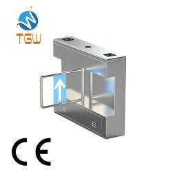 Sistemi di sicurezza CE sistema di controllo automatico dell'accesso al cancello tornello oscillante Sistema di controllo accesso pedonale con soluzione di controllo accesso tramite scheda RFID