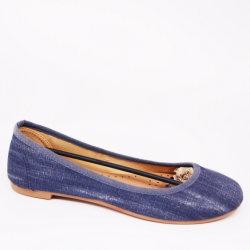 Lavé le Denim occasionnel des chaussures plates Femmes Chaussures de mode