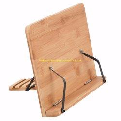Lecture de bambou Stand tiroir porte Table
