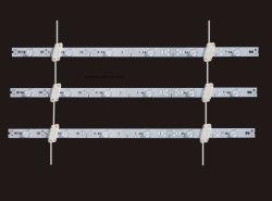 새로운 디자인의 알루미늄 LED TV, D12V의 리지하드 바 14.4