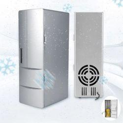 5V USB portátil carro eléctrico frigorífico carro USB Mini frigorífico Refrigerador Auto Biberões Latas do Refrigerador de Bebidas Bebidas Freezer Refrigerador Cerveja