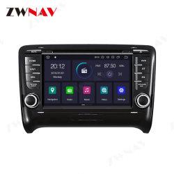 Rádio de Navegação GPS para a Audi TT Mk2 8j Leitor DVD Multimédia Android 10.0 PX6 DSP 2006+ Auto Cabeça estéreo de áudio e vídeo da unidade
