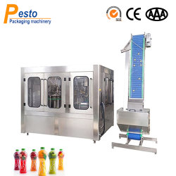 عصير المشروبات الأوتوماتيكي الكامل / معدات تعبئة الحليب الساخنة