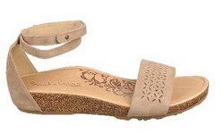 Видные женственный стиль из натуральной кожи или замшу повседневный сандалии