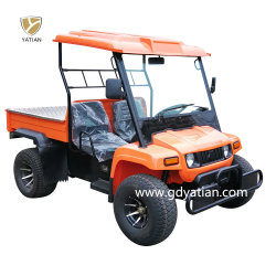 شهادة CE AC Controller 5kw 48V السيارات الكهربائية خارج الطريق شاحنة Buggy Utility Farm Truck